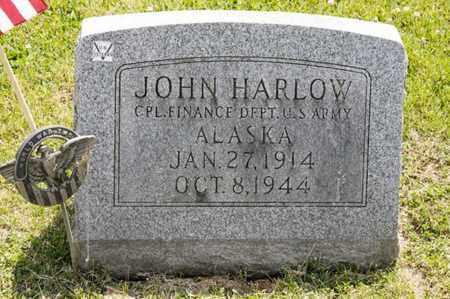 HARLOW, JOHN - Richland County, Ohio | JOHN HARLOW - Ohio Gravestone Photos