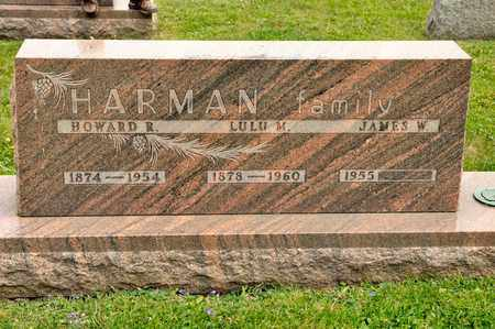 HARMAN, HOWARD R - Richland County, Ohio | HOWARD R HARMAN - Ohio Gravestone Photos