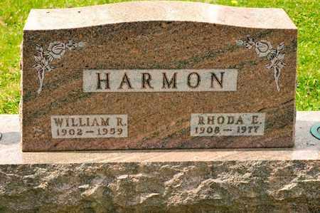 HARMON, WILLIAM R - Richland County, Ohio | WILLIAM R HARMON - Ohio Gravestone Photos