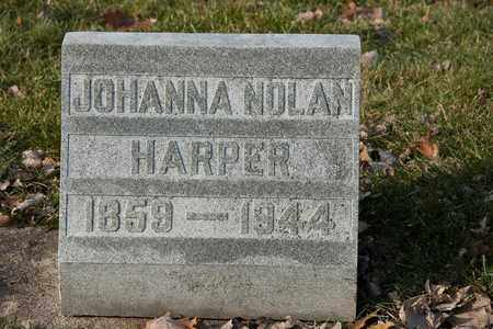 HARPER, JOHANNA - Richland County, Ohio | JOHANNA HARPER - Ohio Gravestone Photos