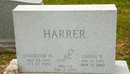 HARRER, SYLVESTER H - Richland County, Ohio | SYLVESTER H HARRER - Ohio Gravestone Photos
