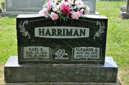 HARRIMAN, CARL E - Richland County, Ohio | CARL E HARRIMAN - Ohio Gravestone Photos
