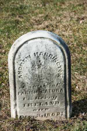 HARRINGTON, ANDREW - Richland County, Ohio   ANDREW HARRINGTON - Ohio Gravestone Photos