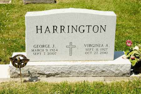HARRINGTON, VIRGINIA A - Richland County, Ohio | VIRGINIA A HARRINGTON - Ohio Gravestone Photos