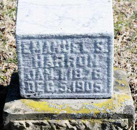 HARRON, EMANUEL S - Richland County, Ohio | EMANUEL S HARRON - Ohio Gravestone Photos
