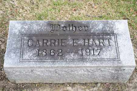 HART, CARRIE E - Richland County, Ohio | CARRIE E HART - Ohio Gravestone Photos