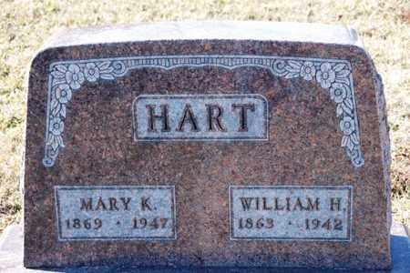 HART, WILLIAM H - Richland County, Ohio | WILLIAM H HART - Ohio Gravestone Photos