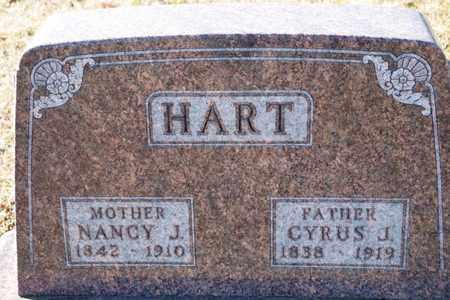 HART, NANCY J - Richland County, Ohio | NANCY J HART - Ohio Gravestone Photos