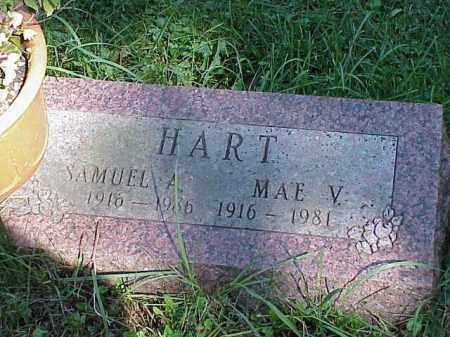 HART, SAMUEL A. - Richland County, Ohio   SAMUEL A. HART - Ohio Gravestone Photos