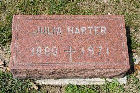 HARTER, JULIA - Richland County, Ohio   JULIA HARTER - Ohio Gravestone Photos