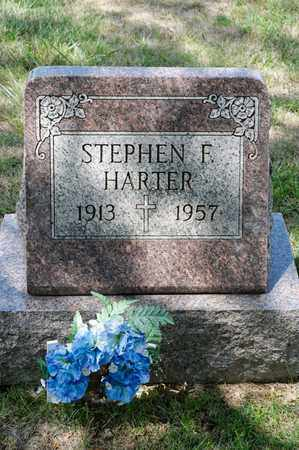 HARTER, STEPHEN F - Richland County, Ohio | STEPHEN F HARTER - Ohio Gravestone Photos