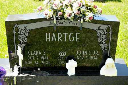 HARTGE, CLARA S - Richland County, Ohio | CLARA S HARTGE - Ohio Gravestone Photos