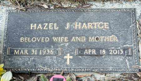 HARTGE, HAZEL J - Richland County, Ohio | HAZEL J HARTGE - Ohio Gravestone Photos