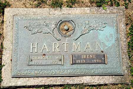 HARTMAN, IRENE - Richland County, Ohio   IRENE HARTMAN - Ohio Gravestone Photos