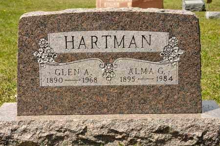 HARTMAN, ALMA G - Richland County, Ohio | ALMA G HARTMAN - Ohio Gravestone Photos
