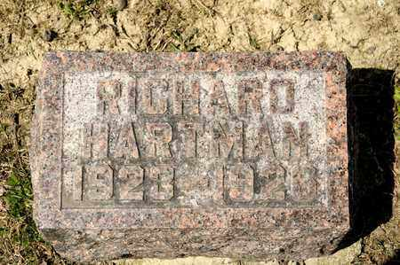 HARTMAN, RICHARD - Richland County, Ohio | RICHARD HARTMAN - Ohio Gravestone Photos