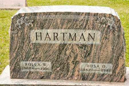 HARTMAN, ROLLA W - Richland County, Ohio | ROLLA W HARTMAN - Ohio Gravestone Photos