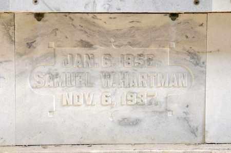 HARTMAN, SAMUEL W - Richland County, Ohio   SAMUEL W HARTMAN - Ohio Gravestone Photos