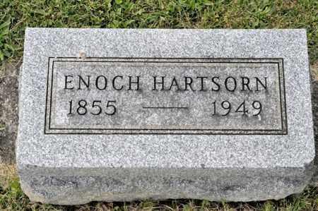 HARTSORN, ENOCH - Richland County, Ohio   ENOCH HARTSORN - Ohio Gravestone Photos