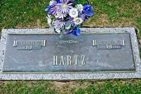 HARTZ, BEATRICE M - Richland County, Ohio   BEATRICE M HARTZ - Ohio Gravestone Photos