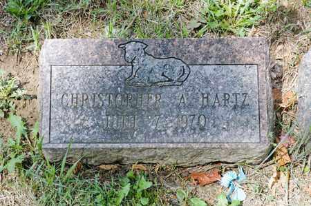 HARTZ, CHRISTOPHER A - Richland County, Ohio | CHRISTOPHER A HARTZ - Ohio Gravestone Photos