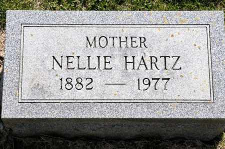 HARTZ, NELLIE - Richland County, Ohio | NELLIE HARTZ - Ohio Gravestone Photos