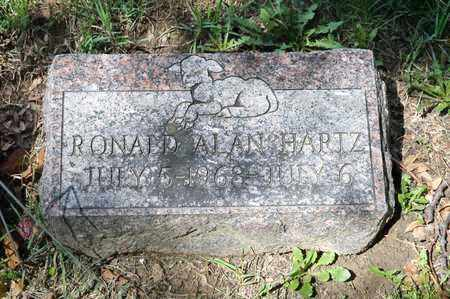 HARTZ, RONALD ALAN - Richland County, Ohio | RONALD ALAN HARTZ - Ohio Gravestone Photos