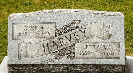 HARVEY, ETTA M - Richland County, Ohio   ETTA M HARVEY - Ohio Gravestone Photos