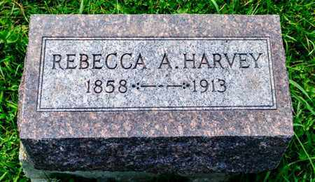 HARVEY, REBECCA A - Richland County, Ohio | REBECCA A HARVEY - Ohio Gravestone Photos