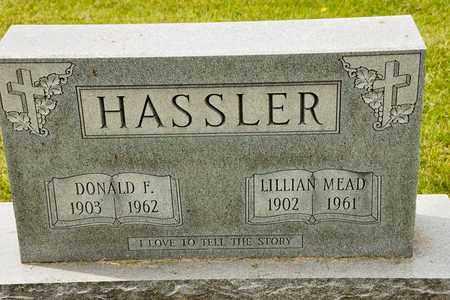 HASSLER, DONALD F - Richland County, Ohio | DONALD F HASSLER - Ohio Gravestone Photos