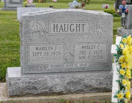 HAUGHT, WESLEY C - Richland County, Ohio | WESLEY C HAUGHT - Ohio Gravestone Photos