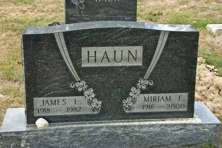 HAUN, MIRIAM E - Richland County, Ohio | MIRIAM E HAUN - Ohio Gravestone Photos