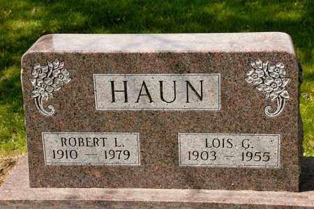 HAUN, ROBERT L - Richland County, Ohio | ROBERT L HAUN - Ohio Gravestone Photos