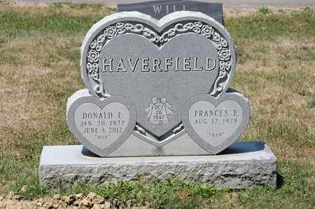 HAVERFIELD, DONALD E - Richland County, Ohio   DONALD E HAVERFIELD - Ohio Gravestone Photos