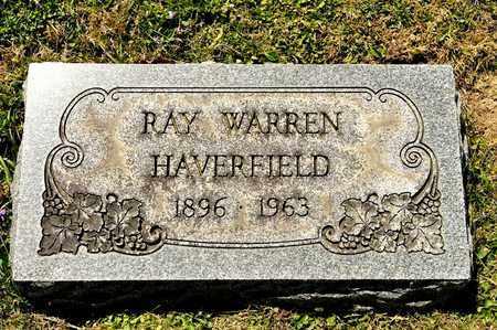 HAVERFIELD, RAY WARREN - Richland County, Ohio | RAY WARREN HAVERFIELD - Ohio Gravestone Photos