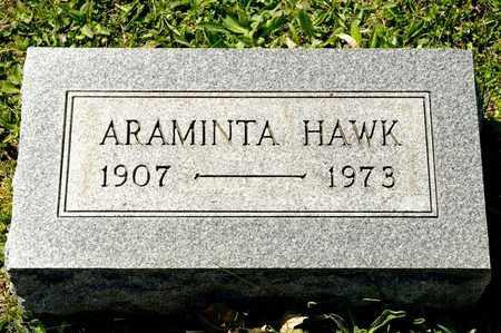 HAWK, ARAMINTA - Richland County, Ohio   ARAMINTA HAWK - Ohio Gravestone Photos