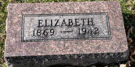 HAWK, ELIZABETH - Richland County, Ohio | ELIZABETH HAWK - Ohio Gravestone Photos
