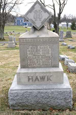 HAWK, ELLA H - Richland County, Ohio | ELLA H HAWK - Ohio Gravestone Photos