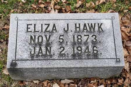 HAWK, ELIZA J - Richland County, Ohio | ELIZA J HAWK - Ohio Gravestone Photos