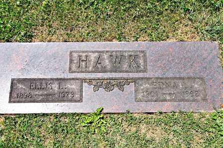 HAWK, EDNA L - Richland County, Ohio | EDNA L HAWK - Ohio Gravestone Photos