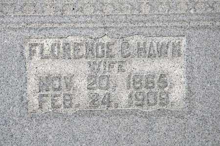 HARTMAN HAWK, FLORENCE C - Richland County, Ohio | FLORENCE C HARTMAN HAWK - Ohio Gravestone Photos