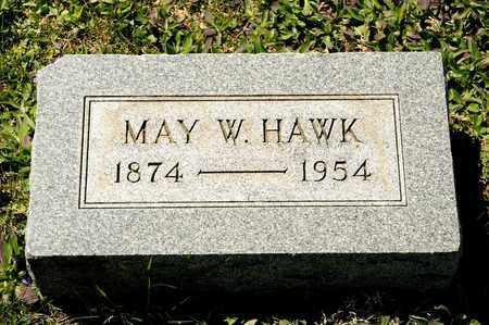 HAWK, MAY W - Richland County, Ohio   MAY W HAWK - Ohio Gravestone Photos