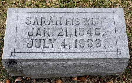 HAWK, SARAH - Richland County, Ohio | SARAH HAWK - Ohio Gravestone Photos