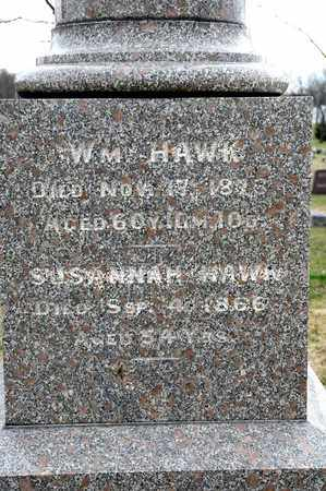 HAWK, SUSANNAH - Richland County, Ohio | SUSANNAH HAWK - Ohio Gravestone Photos