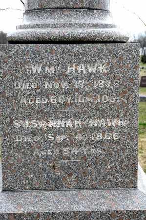 HAWK, WILLIAM - Richland County, Ohio | WILLIAM HAWK - Ohio Gravestone Photos