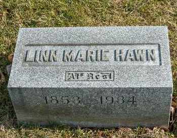 HAWN, LINN MARIE - Richland County, Ohio   LINN MARIE HAWN - Ohio Gravestone Photos