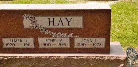 HAY, ETHEL V - Richland County, Ohio | ETHEL V HAY - Ohio Gravestone Photos