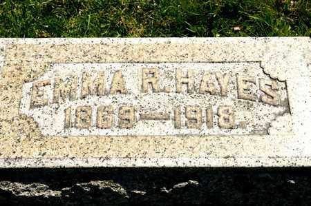HAYES, EMMA R - Richland County, Ohio | EMMA R HAYES - Ohio Gravestone Photos