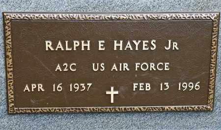 HAYES JR, RALPH E - Richland County, Ohio | RALPH E HAYES JR - Ohio Gravestone Photos