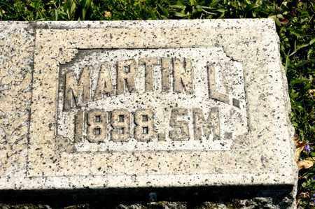 HAYES, MARTIN L - Richland County, Ohio | MARTIN L HAYES - Ohio Gravestone Photos
